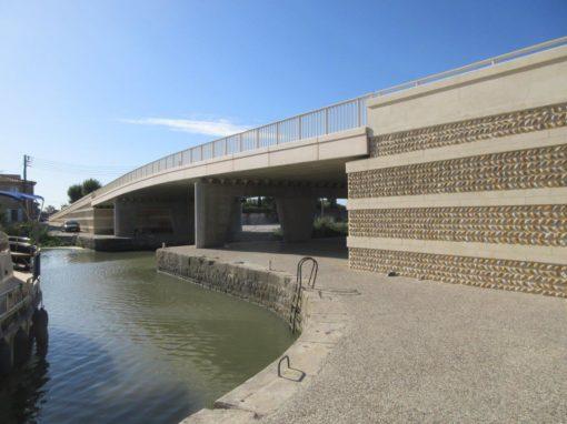 Pont sur le canal du Rhône (RD6572)